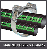 MARINE HOSES &amp  CLAMPS