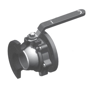 Full Bore Ball Valve Flanged 2PC