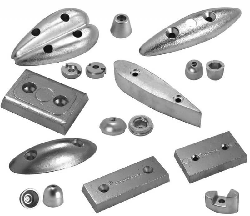 Bouthrusters Anodes