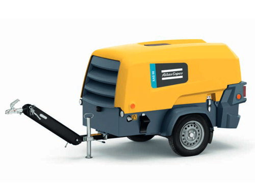 Mobile Diesel Air Compressor