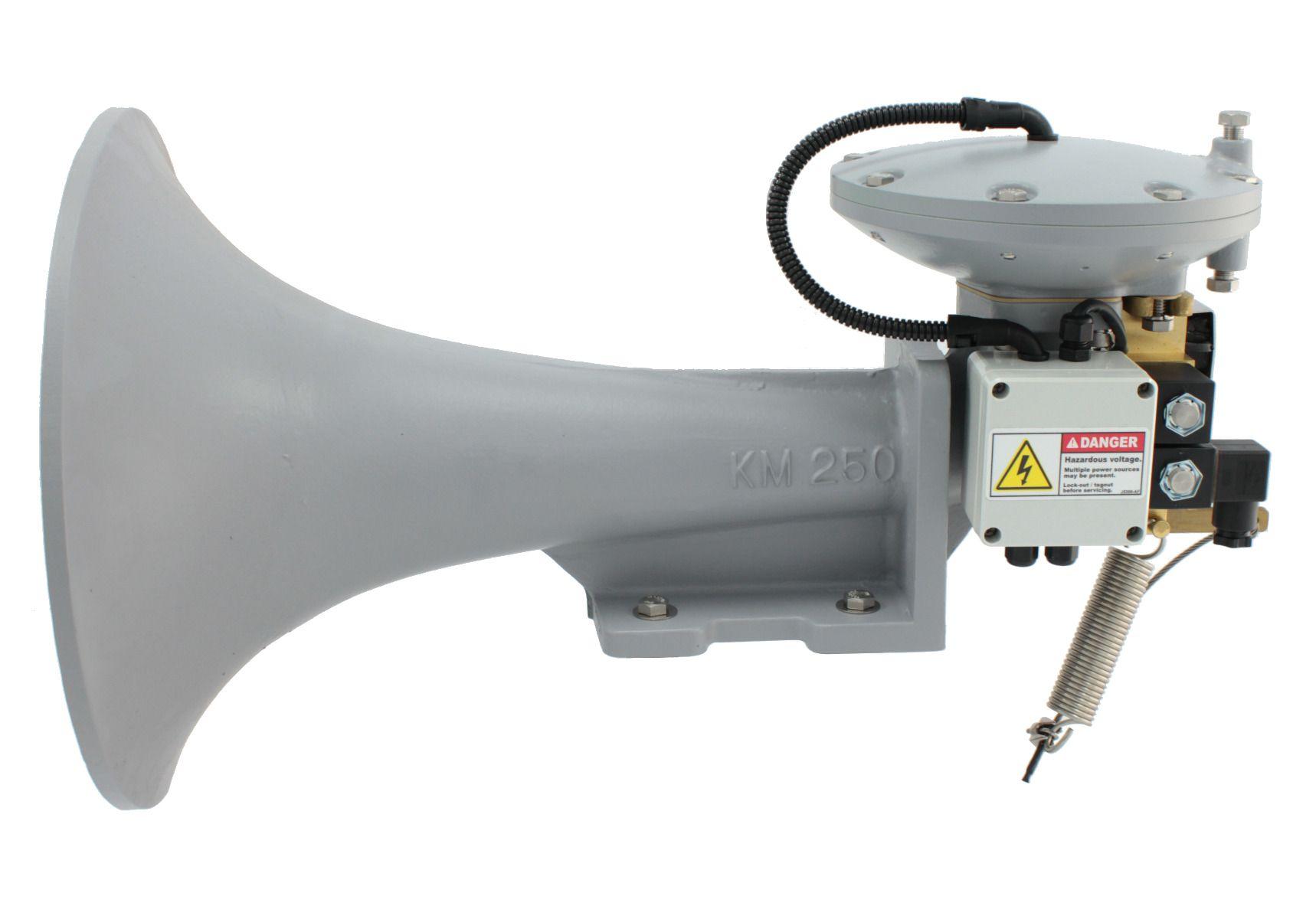 Model KM-250-DVM-H Air Horn
