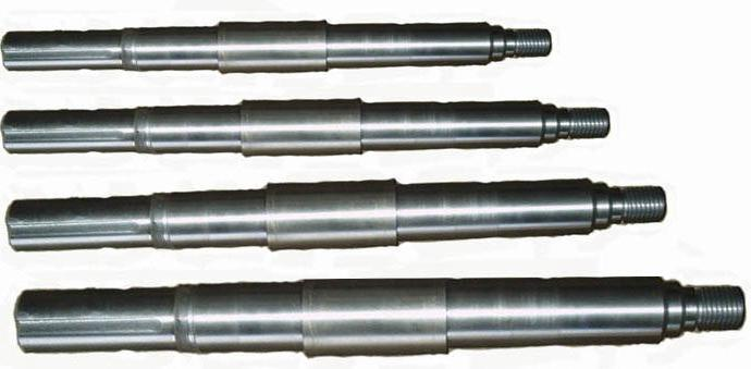 Pump shafts