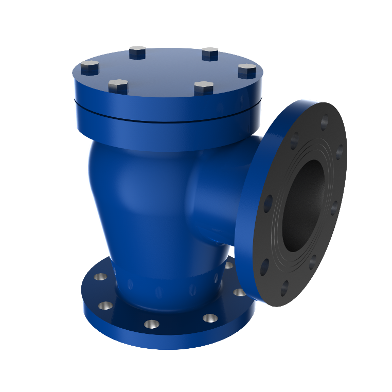 Angle Check Valve With Spring