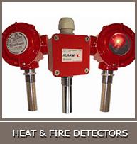 HEAT &amp  FIRE DETECTORS