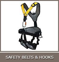 SAFETY BELTS &amp  HOOKS